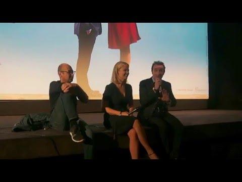 Un Homme à la Hauteur: rencontre avec Jean Dujardin, Virginie Efira & Laurent Tirard