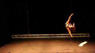 Aurélia Wijnen - Pro - Belgian Pole Dance Championship 2017