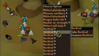 Runescape | MAXED Rapier & Statius Hammer pure | Sensitive Pk | 1 Defence | Pk video 3