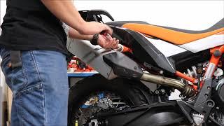 Installation instruction BUMOT pannier racks for KTM790 without passenger footpeg