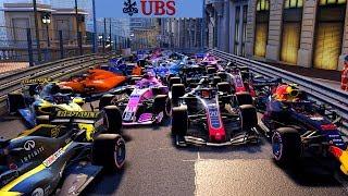 200 Dirty Drivers VS 1 Noob | F1 2018