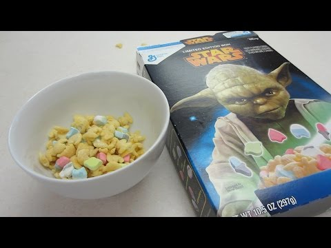 60 SECOND REVIEW: General Mills Star Wars Cereal (2015)