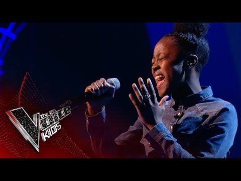 Amaria Performs 'A Change Is Gonna Come': Blinds 2 | The Voice Kids UK 2017