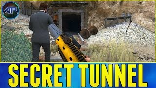 Investigating The Secret Tunnel In GTA V Online!!!