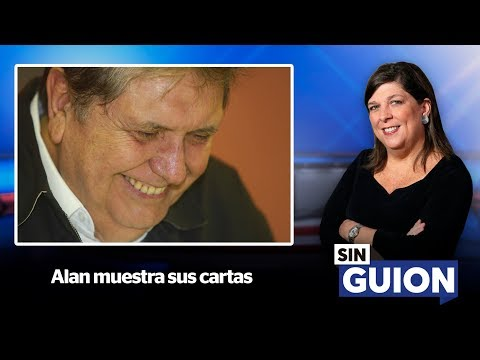 Alan muestra sus cartas - SIN GUION con Rosa María Palacios
