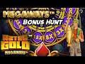£500 Megaways Bonus Hunt! Madame Destiny, Aztec Gold & More!!