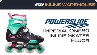 2017 Powerslide Imperial One80 Skate Fluor Review
