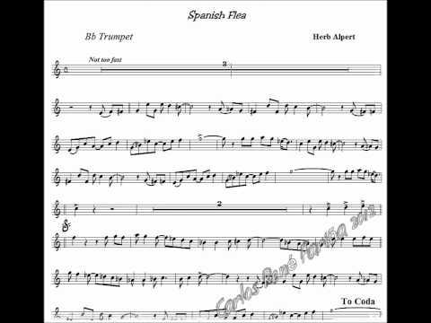 Spanish Flea (Herb Alpert) - Trumpet base