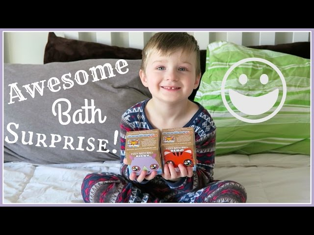 AWESOME BATH SURPRISE!