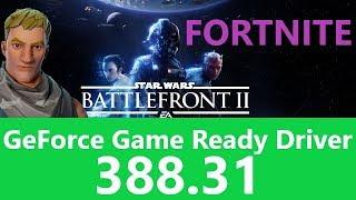 [ Fortnite ] Game Ready Driver 388.31-GTX1080Tiベンチマーク1080p#05