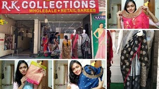 Shopping Vlog || Affordable Sarees And Dresses || RK COLLECTIONS HYDERABAD