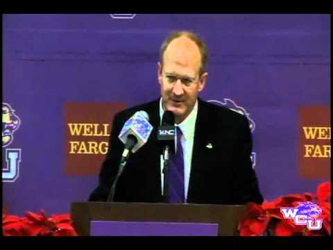 WCU 2011 Head Football Coach Anouncement
