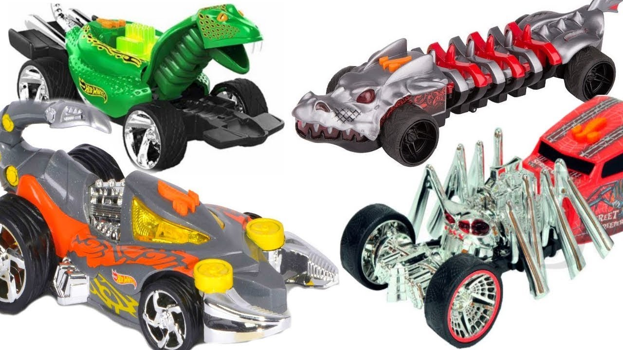 ХОТ ВИЛС МУТАНТЫ ▻ Машинки Треки Для детей Hot Wheels MUTANTS .