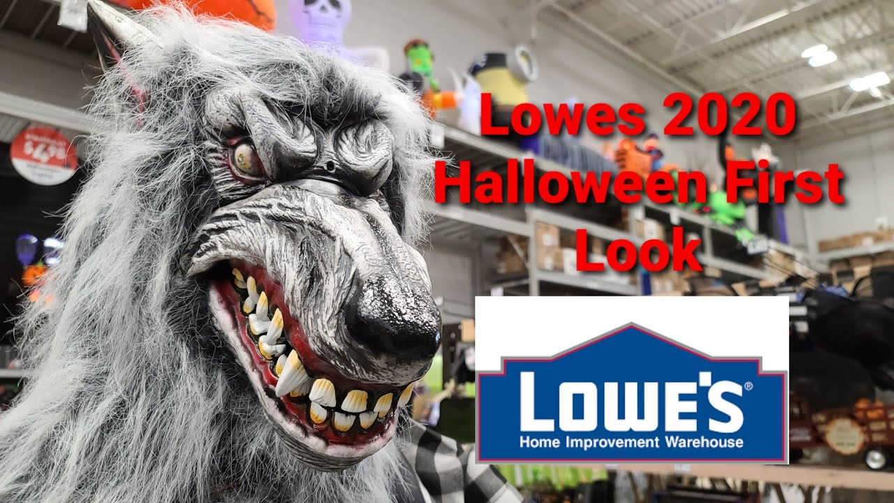 Lowe'S Halloween 2020 Lowes First Look Halloween 2020   YouTube
