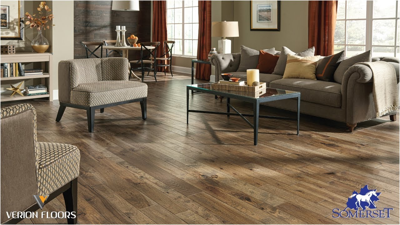 Somerset hardwood hand crafted collection verion floors
