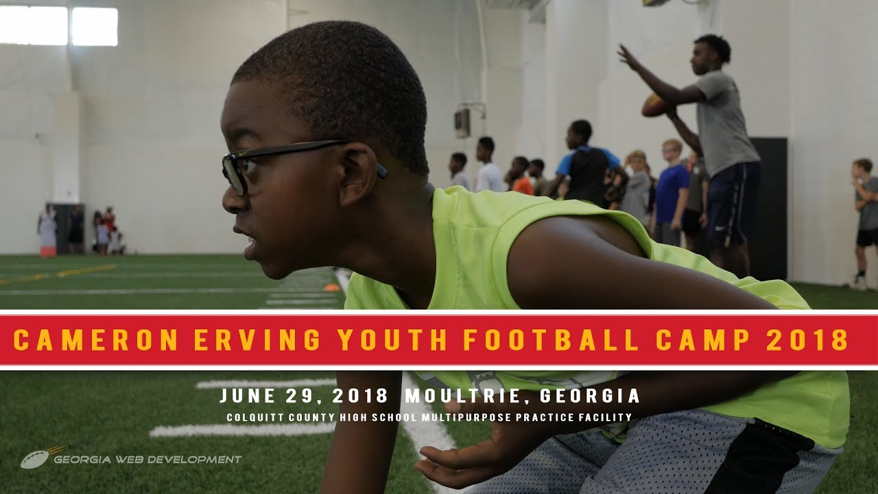 Cheap Kansas City Chiefs Cameron Erving's Youth Football Camp 2018 YouTube