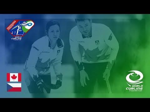 Canada v Czech Republic - Last 16 - World Mixed Doubles Curling Championship 2018