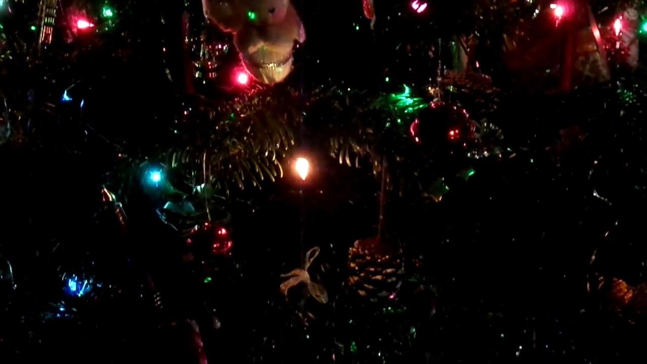 Laser Lights Christmas Tree & Traditional Scottish