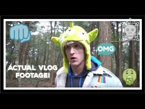 LOGAN PAUL FILMS A DEAD BODY ACTUAL VLOG FOOTAGE! (DELETED!)