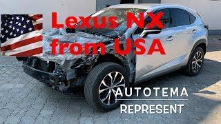 Lexus NX з США в Дніпро, покупка і доставка автомобілів з Америки без переплат, СТО АвтоТема Дніпро
