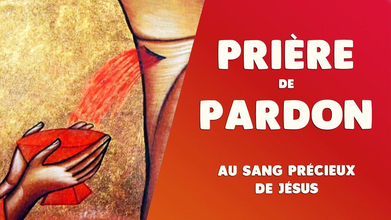 PRIÈRE de PARDON au SANG de JÉSUS vs BLASPHÈMES