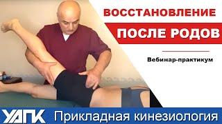 Восстановление после родов с позиций Прикладная кинезиология (Эл.Гагишвили)