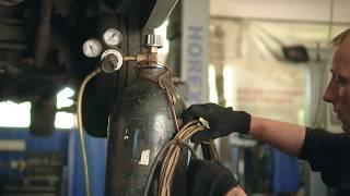 видео ремонт глушителя в минске