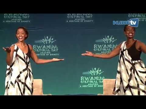 Agaciro; a poem by Angel Uwamahoro and Winnie Rugamba at Rwanda Cultural Day San Francisco