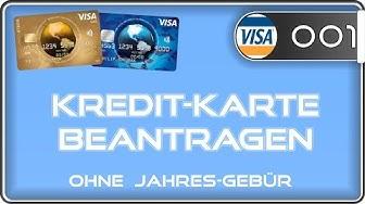 Kreditkarte beantragen