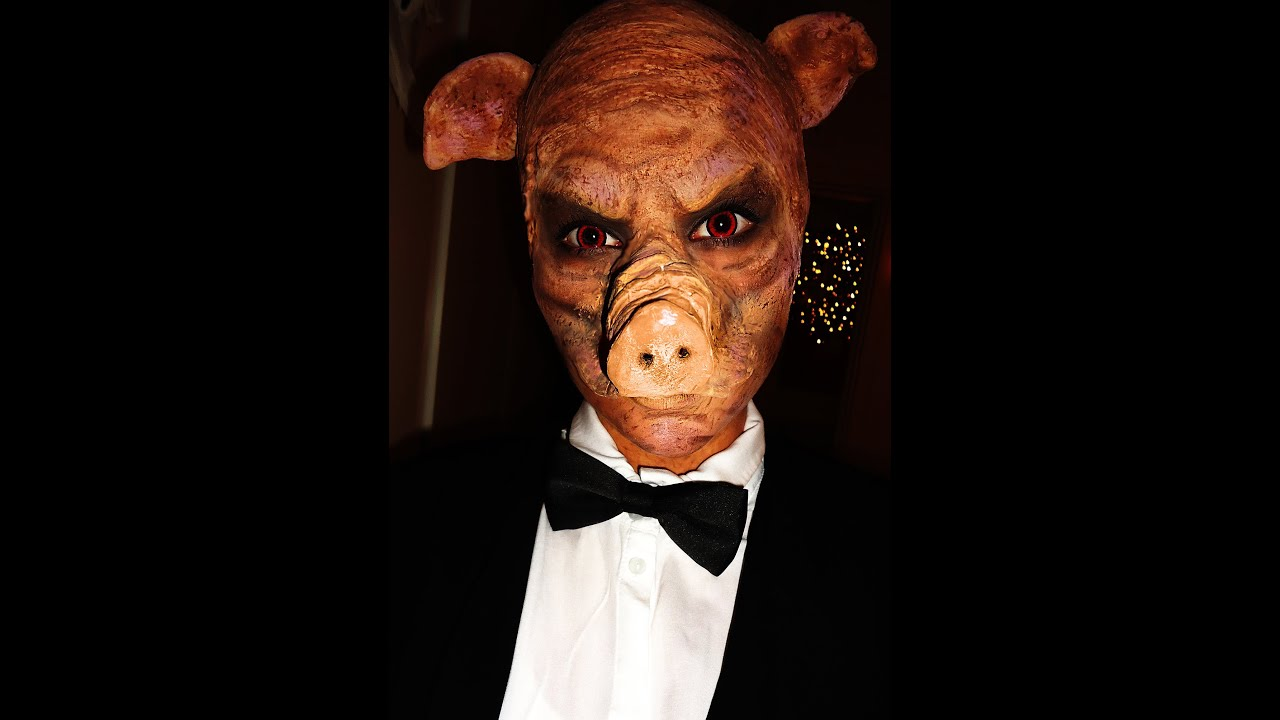 evil pig makeup tutorial youtube
