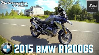2015 BMW R1200GS | First Ride & Review