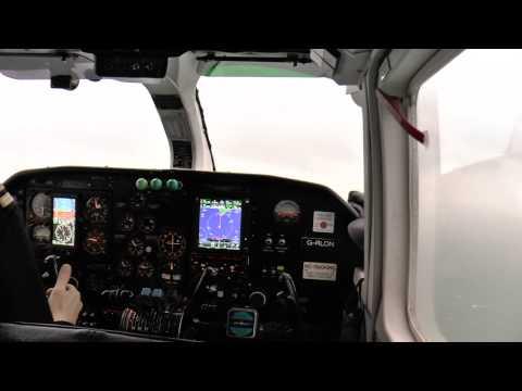 Aurigny Trislander G-RLON Guernsey to Jersey GR812 11 Feb 2014