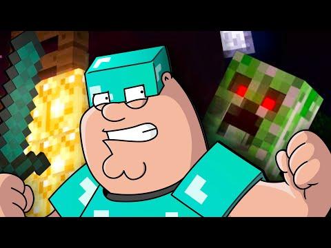 Revenge (Creeper, Aw Man) Minecraft Parody In 20+ VOICES