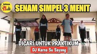 Gambar cover Senam Aerobik Simpel 3 Menit!! Dj Remix Karna Su Sayang