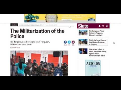 NEWS AND PROPHECY: NATIONAL GUARD DEPLOYED TO FERGUSON, MO