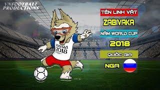 Linh vật ngộ nghĩnh của các kỳ World Cup từ năm 1966 đến năm 2018 của các quốc gia đăng cai
