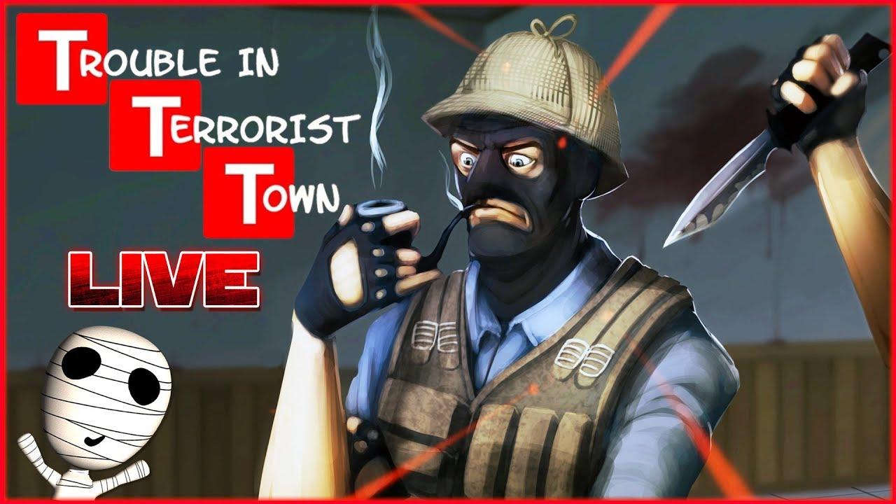Wer ist der Verräter? 😄 🔴 Trouble in Terrorist Town // Livestream