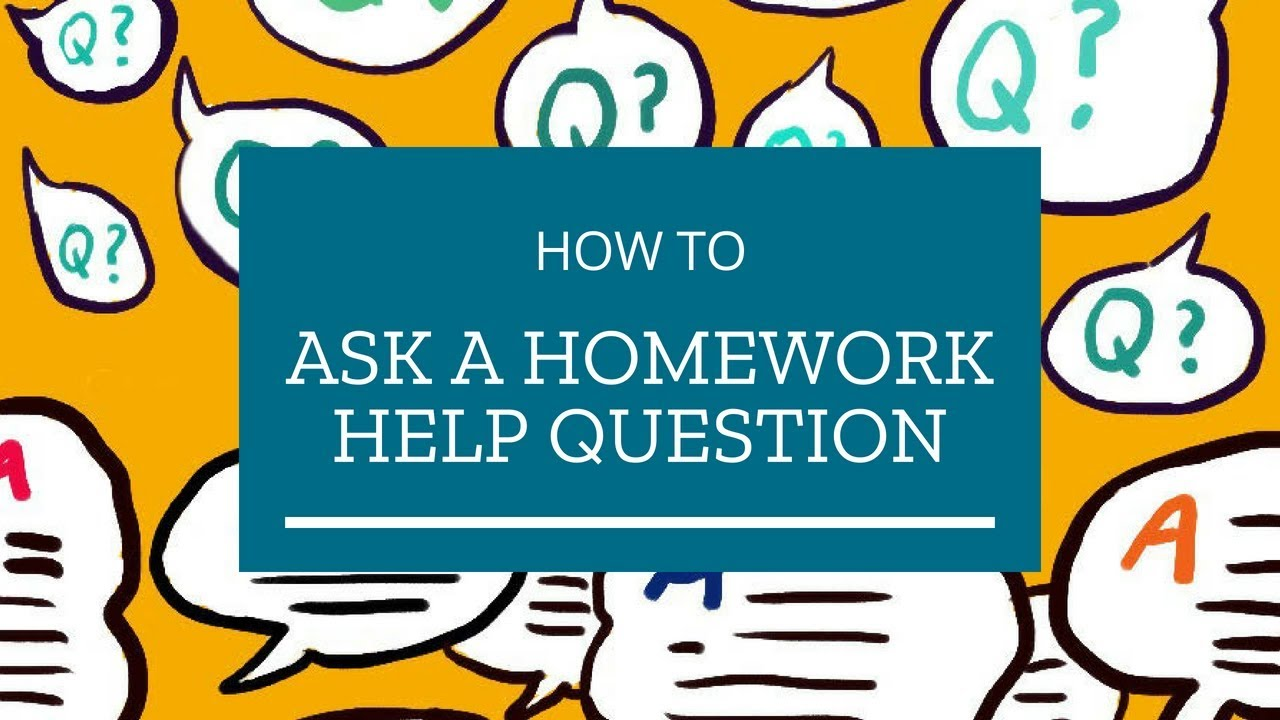 Homework help type question