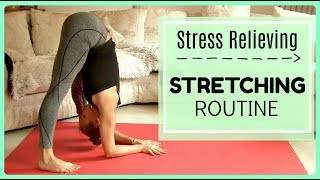 Stress-Relieving Stretching Routine and Yoga Flow