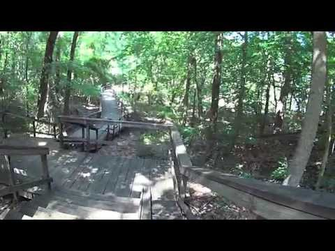 Bicycling the Bicentennial Greenway from High Point to Greensboro, NC