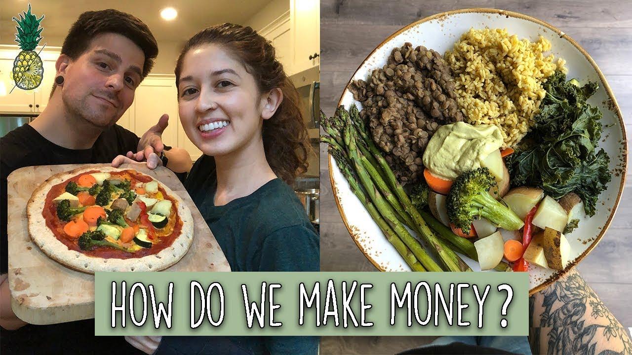 How We Make Money Online + What We Ate Today (Vegan)
