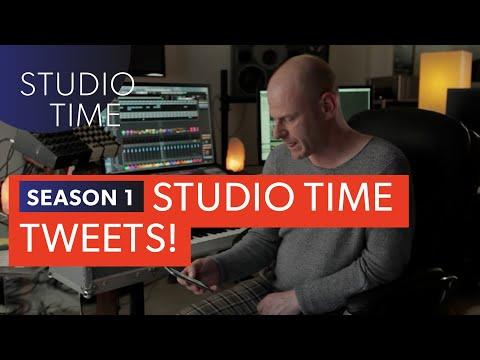 Episode 9: Studio Time Tweets - Studio Time with Junkie XL