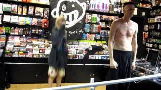 """Die Antwoord - """"Wat Kyk Jy"""" at Newbury Comics in Boston 10/26/10"""
