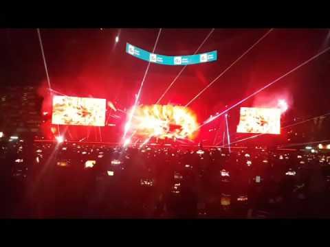 Coldplay Live in Abu Dhabi NYE 17