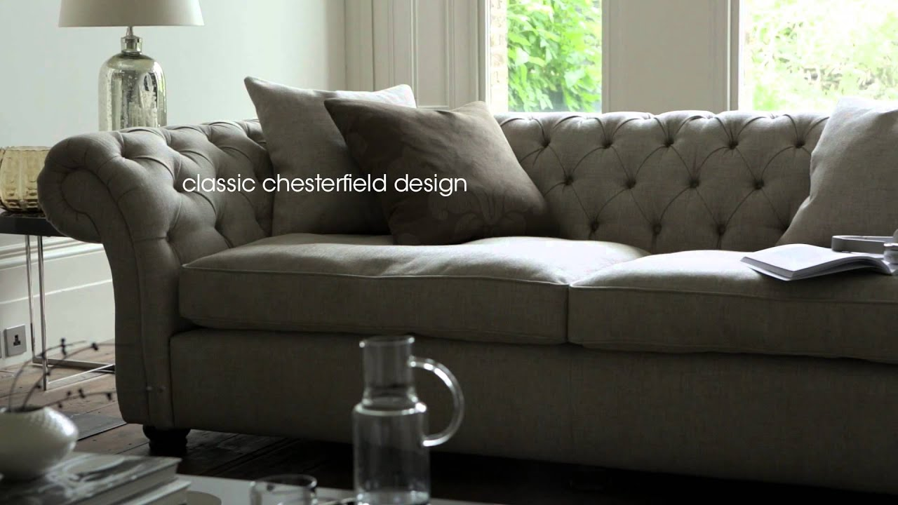 Fabric Chesterfield Sofas Chairs Langham Furniture Village