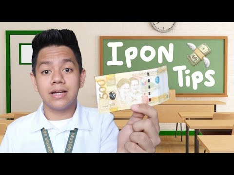IPON TIPS for Students || Jayce Mars