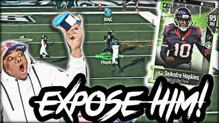 TOTY DeAndre Hopkins Exposing Rage Quitters! Playoffs! | Madden 18 Ultimate Team @JMELLFLO