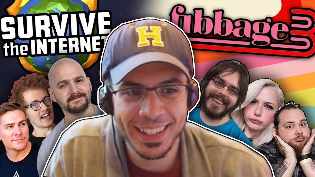 SURVIVE THE INTERNET & FIBBAGE! (Jackbox Party Pack 4 ...