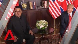 Trump-Kim summit: Trump, Kim make first remarks at historic meeting