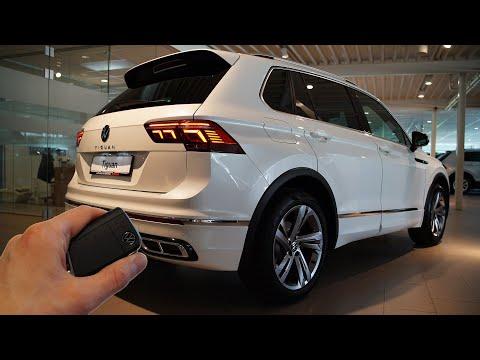 2021 VW Tiguan 1.5 TSI R Line (150hp) - Sound & Visual Review!
